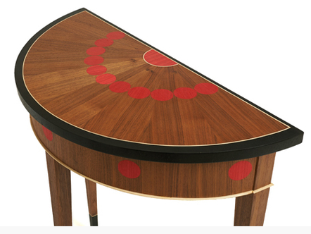 Dot Demilune Table, DC Furniture