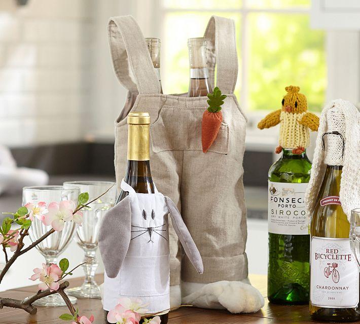 Easter Wine Bottle Topper