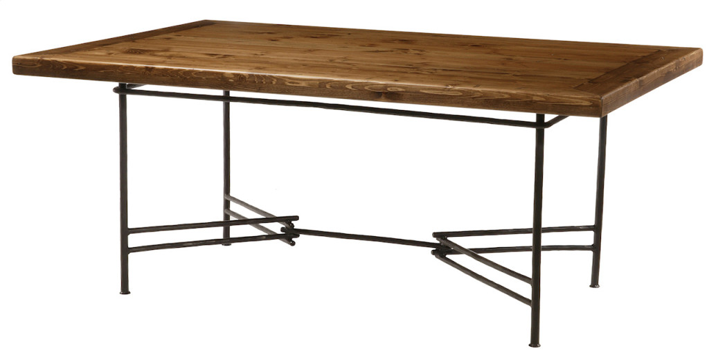Ranch Dining Table by Stone Country Ironworks