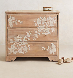 Pearl Inlay Dresser, Anthropologie