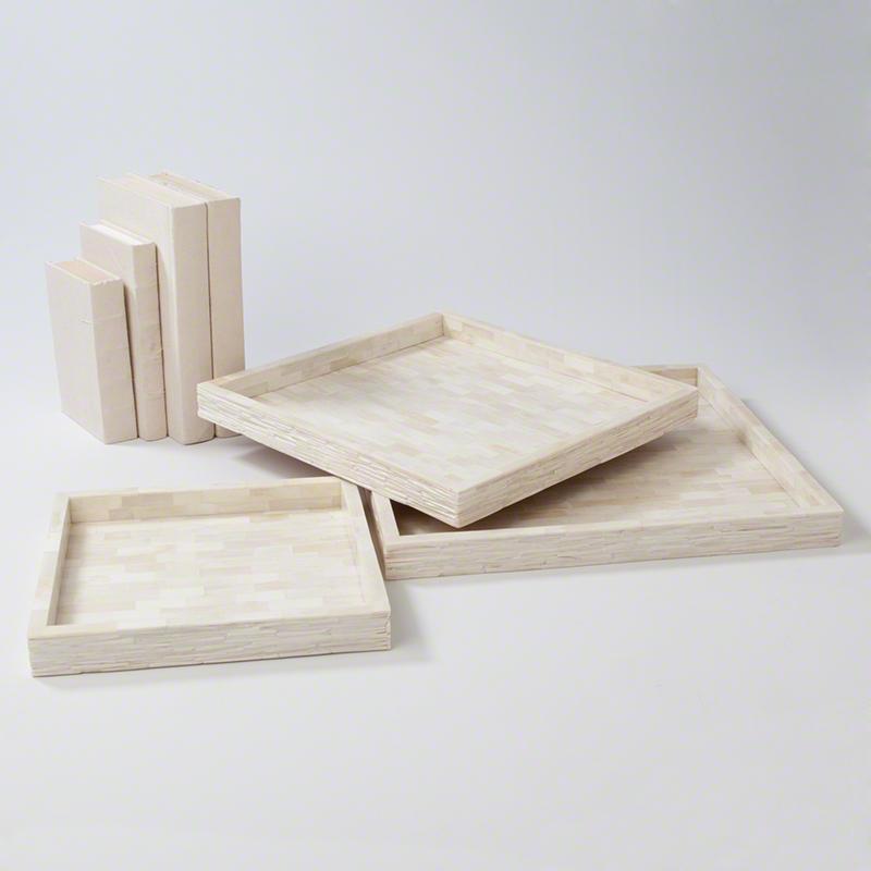 Chiseled Bone Tray, Studio A