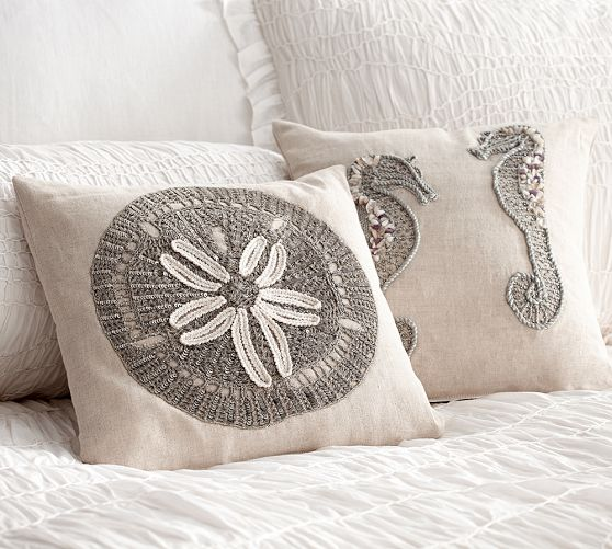 Summer Coastal Decorative Pillows, Pottery Barn