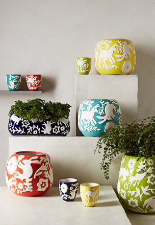 Concho Garden Planter, Anthropologie
