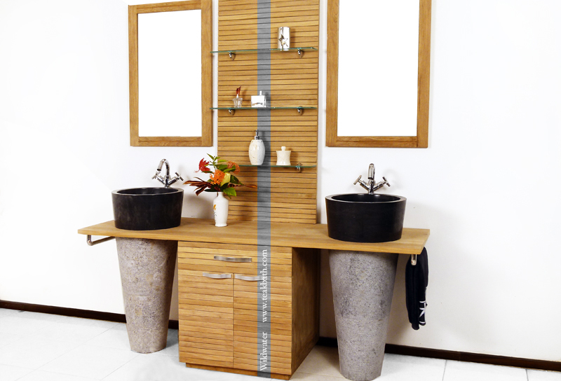 BOYS Collection Vanity, Teak