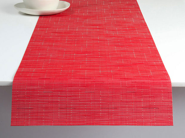 Bamboo Place Mat in Poppy, Chilewich