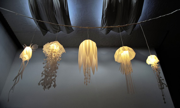 Jellyfish Inspired 'Medusae' Collection Lighting by Roxy Russell