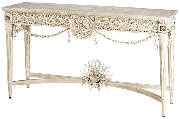 Devereux Console Table, Currey & Coompany