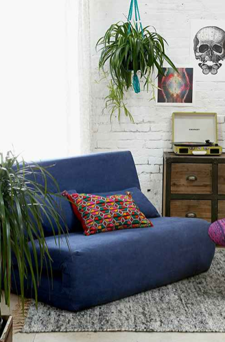Folding Sleeper Loveseat, Urban Outfitters