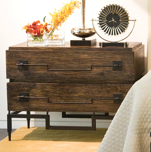 2 Drawer Wide Chest, Global Views