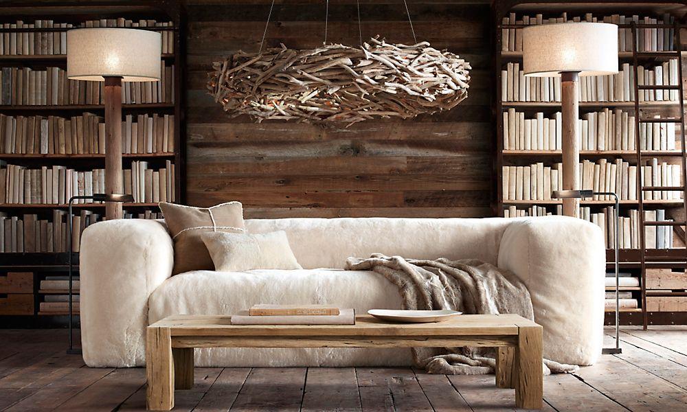 Living Room by Restoration Hardware