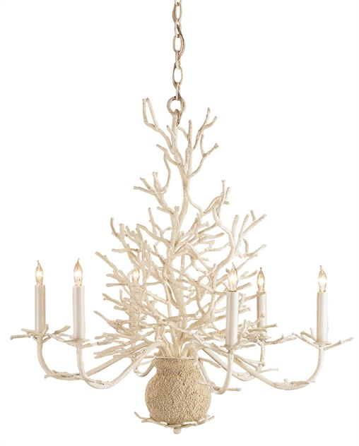 Seaward Chandelier Lighting, Currey & Company