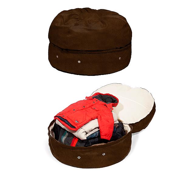 Mimish Microsuede Storage Bean Bag, Bed Bath & Beyond
