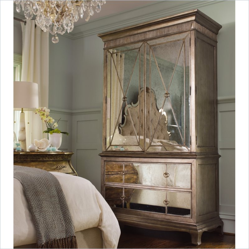 Sanctuary Armoire in Visage, Hooker Furniture