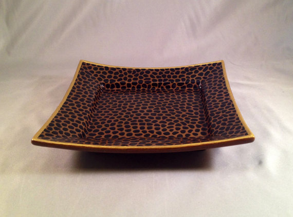 Catchall Dish Large Leopard Print, Etsy