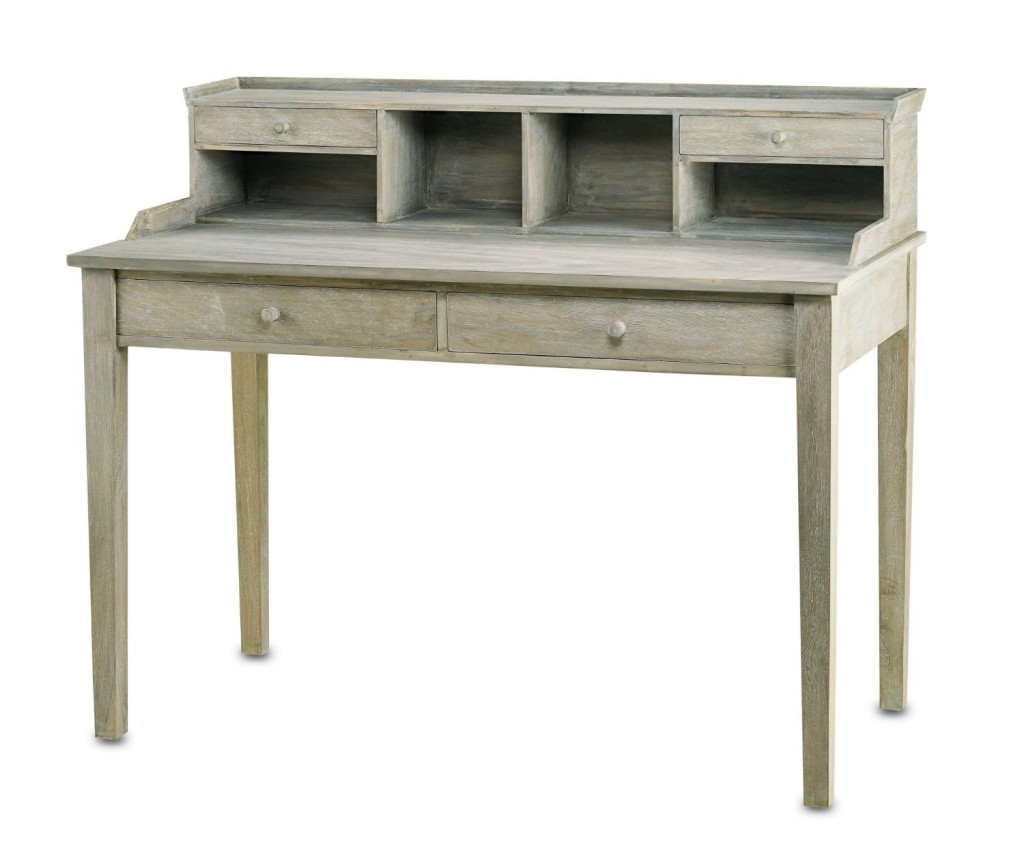 Currey and Company 3097 Meacham - Desk, Distressed Truffle Finish, Currey & Company (Amazon.com)