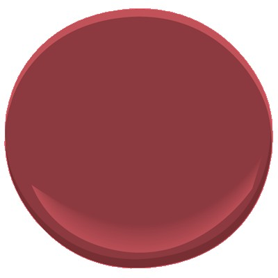 """Pomegranate"", Benjamin Moore"