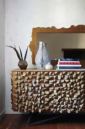 Angle-Edged Console, Anthropologie