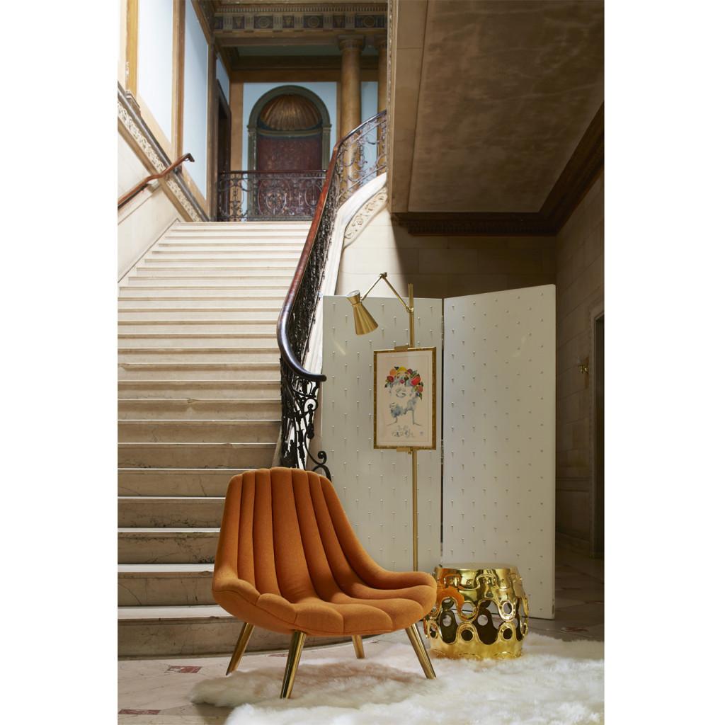 Brigitte Lounge Chair, Jonathan Adler