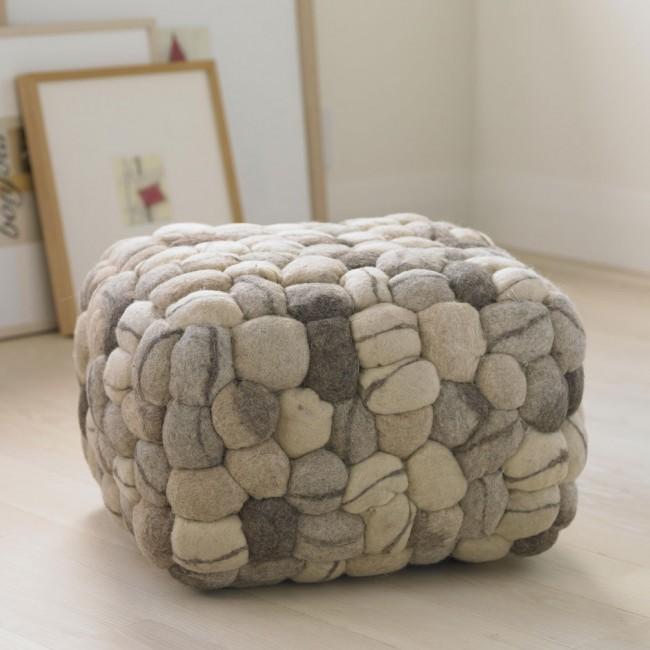 Soft Stone Pouf, VivaTerra