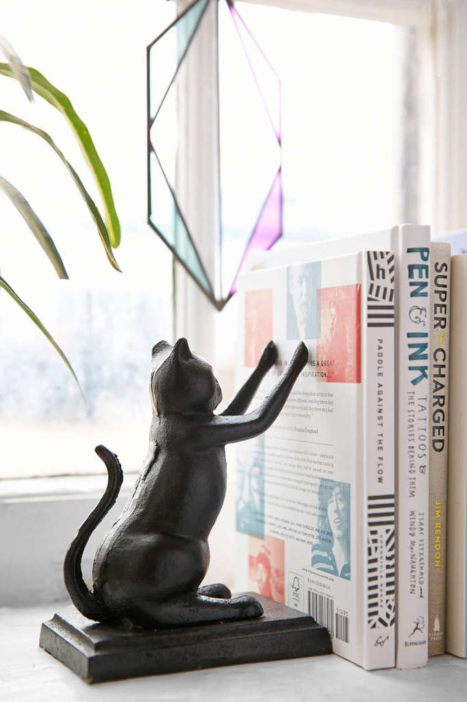 Cat Bookend Set, Urban Outfitters