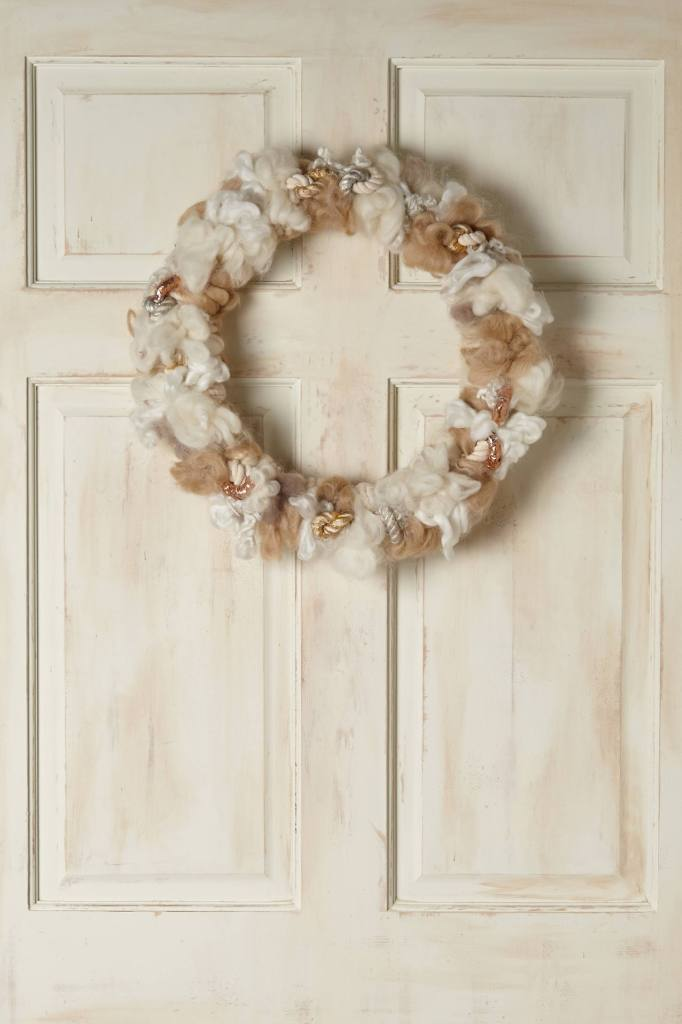 Melange Wreath, Anthropologie