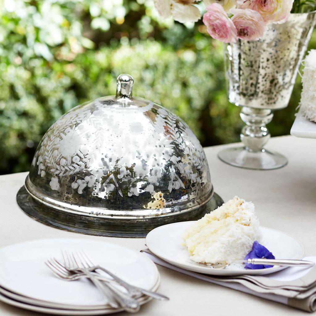 Victorian Cake Dome, Wisteria