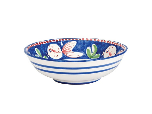 Vietri Pesce Large Serving Bowl, The Bowl Company
