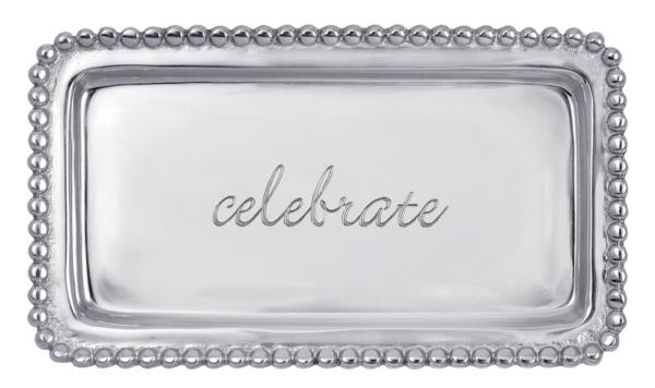 """""""Celebrate"""" Tray, Mariposa"""