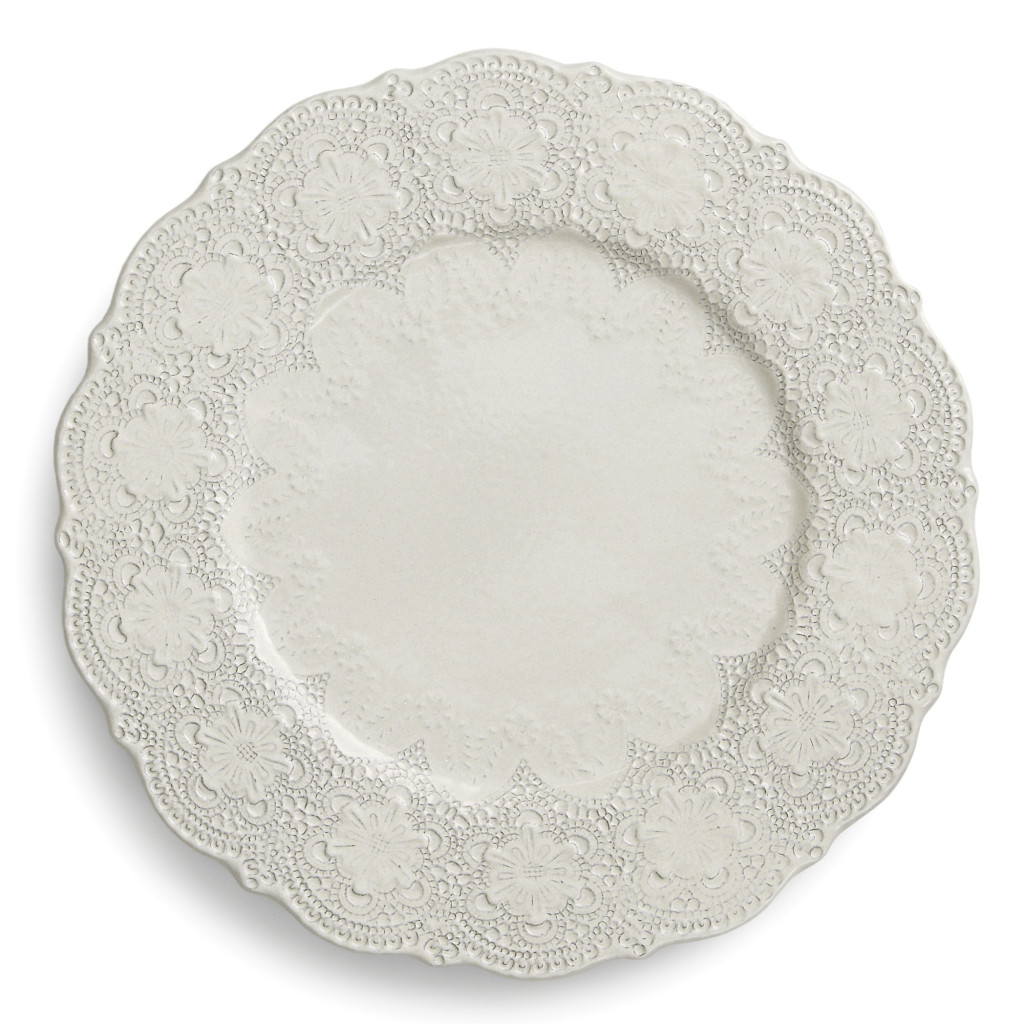 "Arte Italica Merletto 12.25"" Charger Plate, Wayfair"