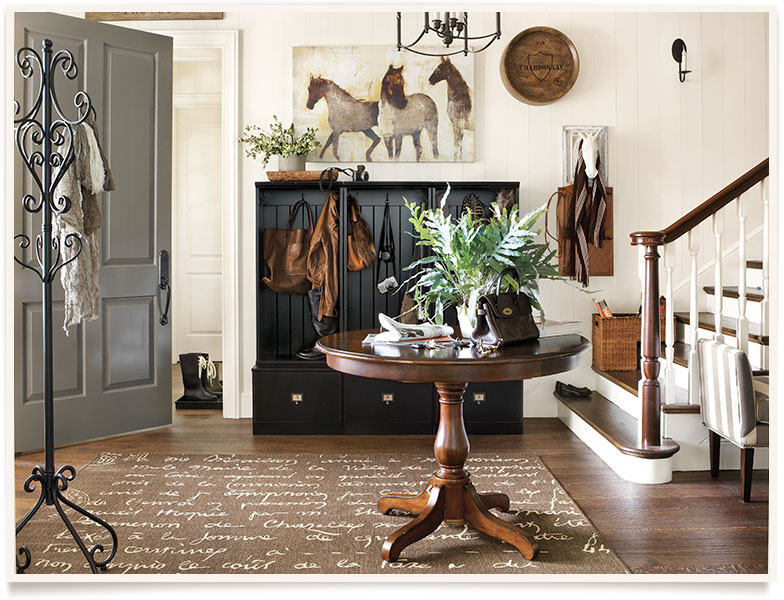 Jill's Entryway, Ballard Designs