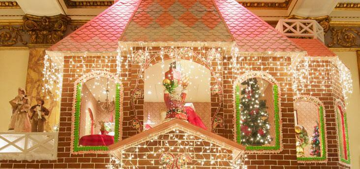 Life-Size Gingerbread Houses in an Area Near You!