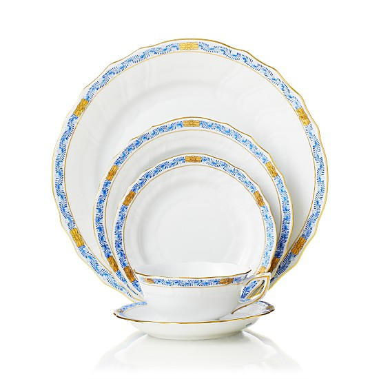 Herend Chinese Bouquet Dinnerware, Garland Blue, Bloomingdale's