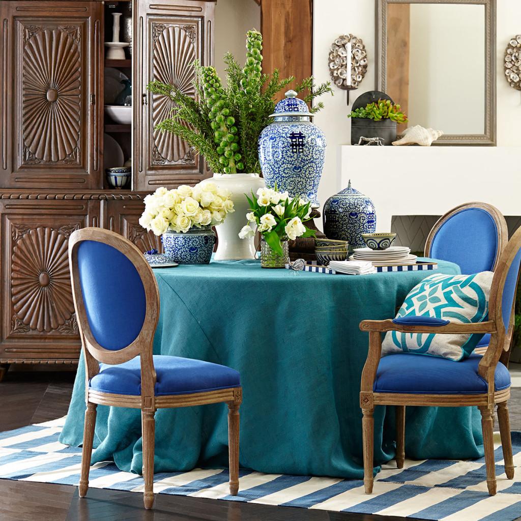 Louis XVI Dining Chair, Wisteria