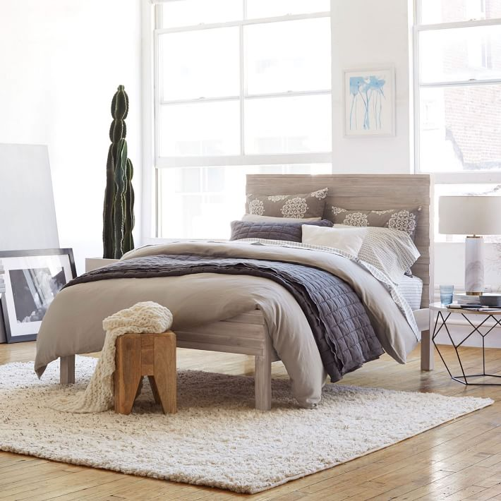 Stria Bed, West Elm