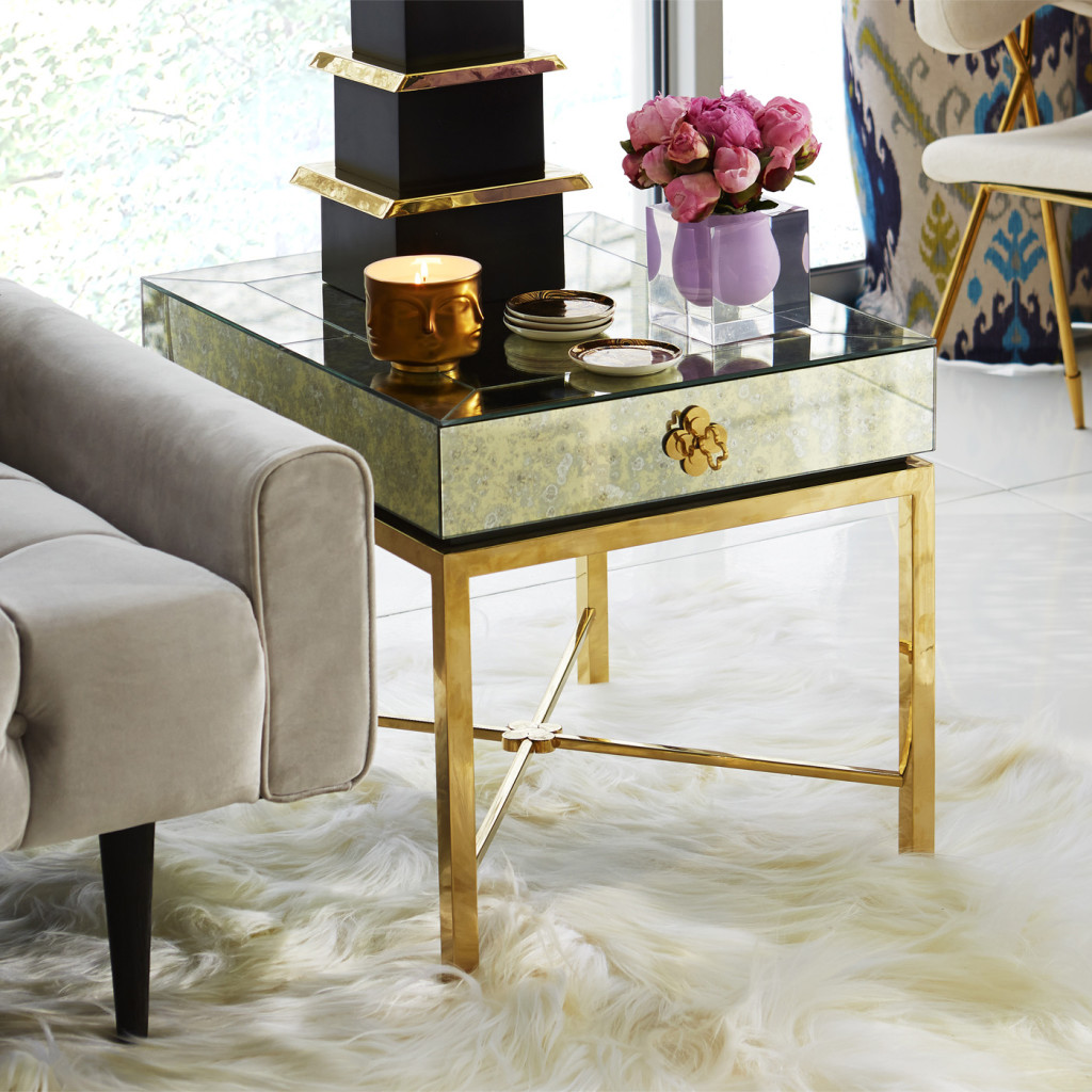 Delphine Side Table, Jonathan Adler