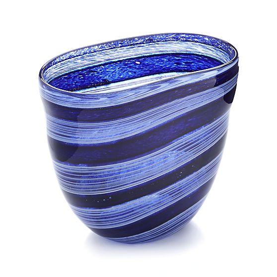 Regatta Vase, Crate & Barrel