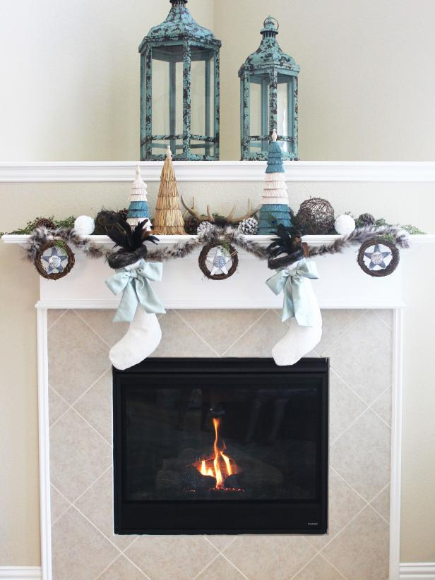 DIY Network Made & Remade, HGTV Holiday Mantel
