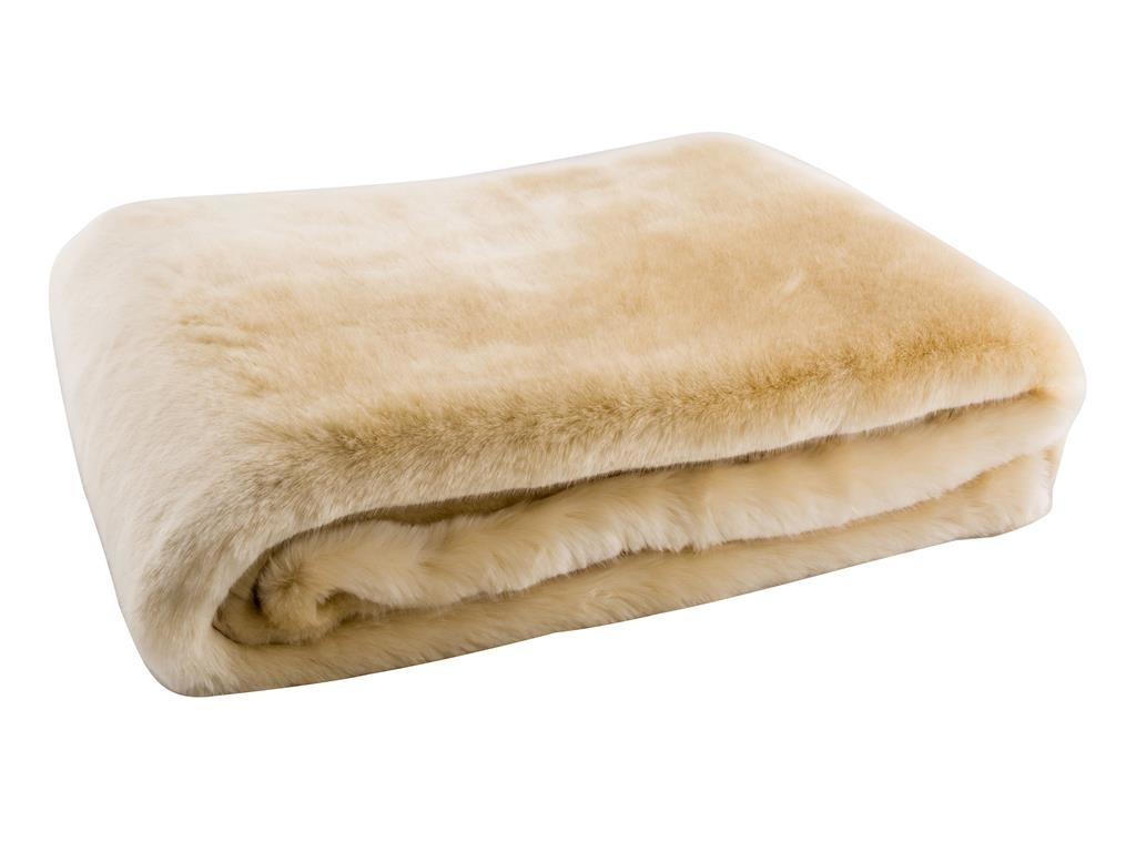 Adrienne Faux Fur Throw-Kravet