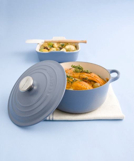 Le Creuset via Culin-art